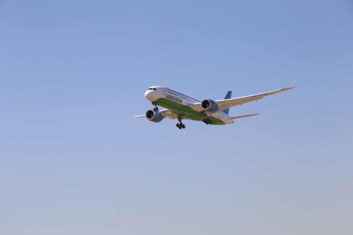 картинка узб самолет вышла