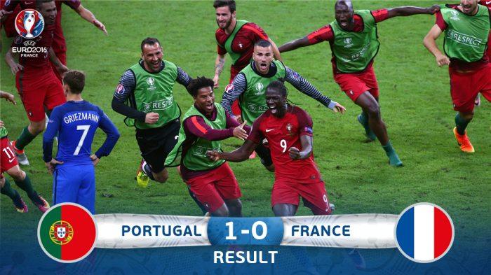 Роналду Португалия терма жамоаси билан Евро-2016 чемпиони бўлди