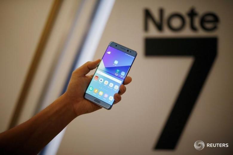 Samsung kompaniyasi Galaxy Note 7 qurilmalarini qaytarib olmoqda