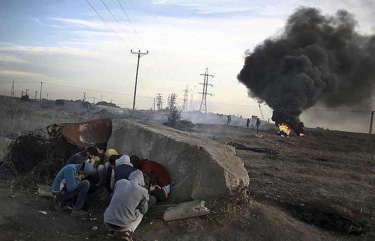 Израиль нанес удар по сектору Газа в ответ на пуски ракет