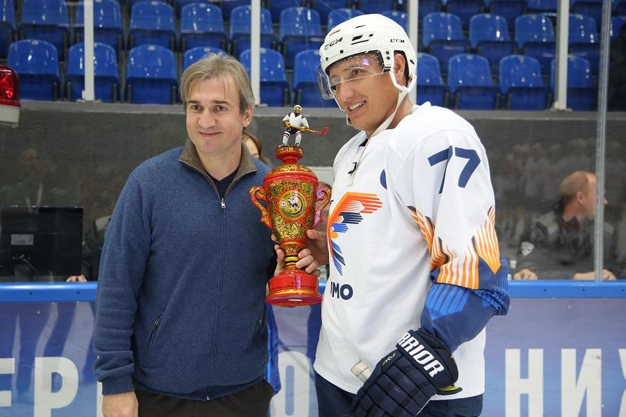 Humo Tashkent hockey players beat HC Dinamo Minsk, take