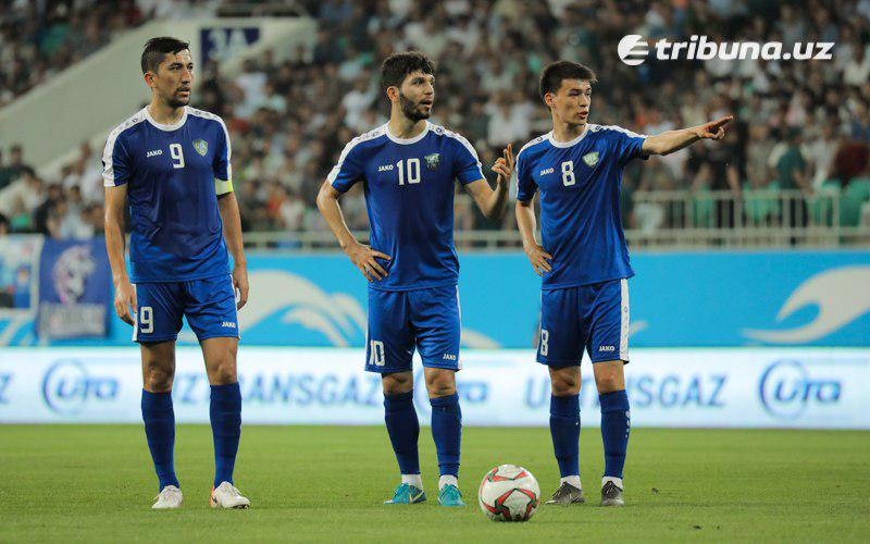 Uzbekistan national football team 3 lines up in the FIFA updated ranking