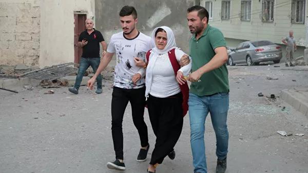 Turkiya hududining kurdlar tomonidan o'qqa tutilishi oqibatida 8 kishi halok bo'ldi