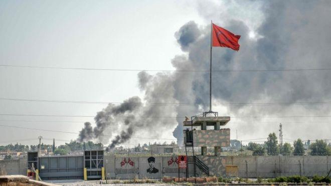 Suriyadagi amaliyot: Turkiya kurdlarga bomba yog'dirmoqda va Yevropaga po'pisa qilmoqda