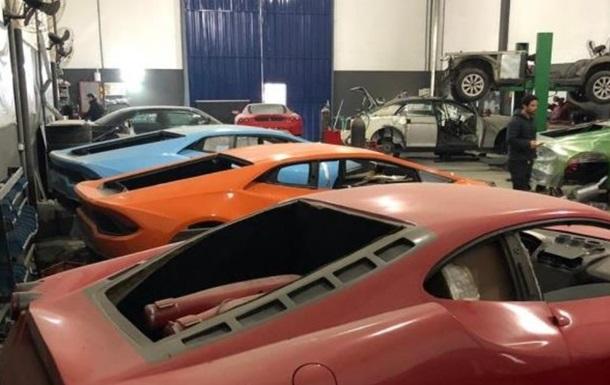 Бразилияда қалбаки Ferrari ишлаб чиқарилувчи фабрика аниқланди