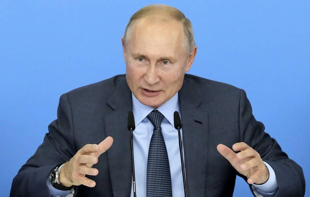 Putin Rossiya qo'shinlarini Suriyadan olib chiqib ketish bo'yicha shartlardan birini aytdi