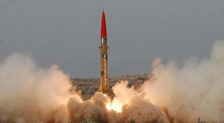 Покистон ядровий заряд ташувчи баллистик ракетани муваффақиятли синовдан ўтказди