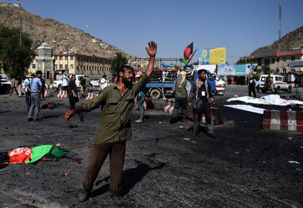 """Афғонистонда """"Толибон"""" жангарилари ҳужуми оқибатида 28 полициячи ҳалок бўлди"""
