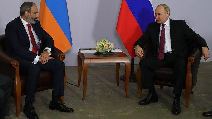Пашинян Путинга қўнғироқ қилди