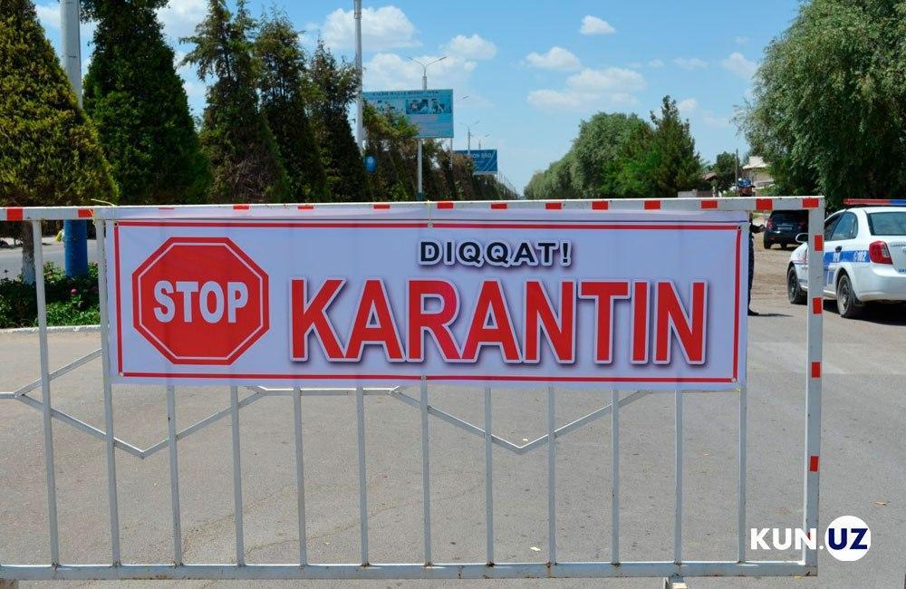 Еще в одном регионе Узбекистана ослабят карантинные меры