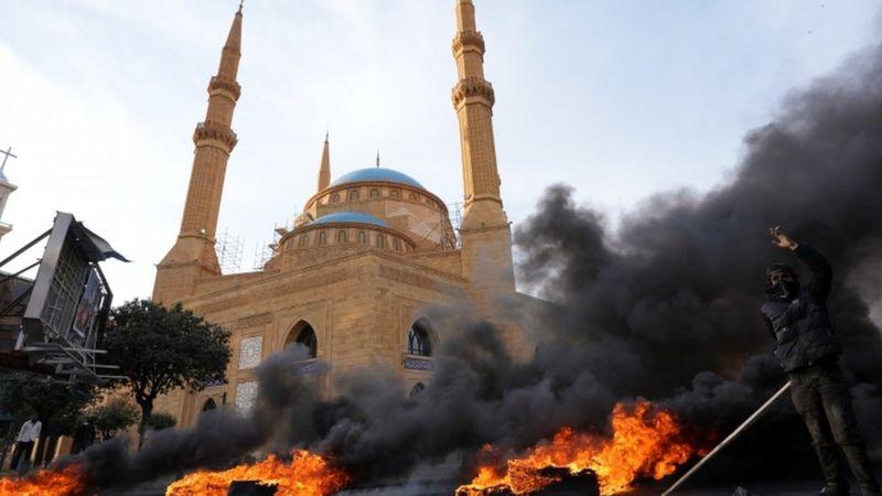 Ливан: маошлар қуламоқда, аскарлар очлик ёқасида, жиноятчилик ўсмоқда