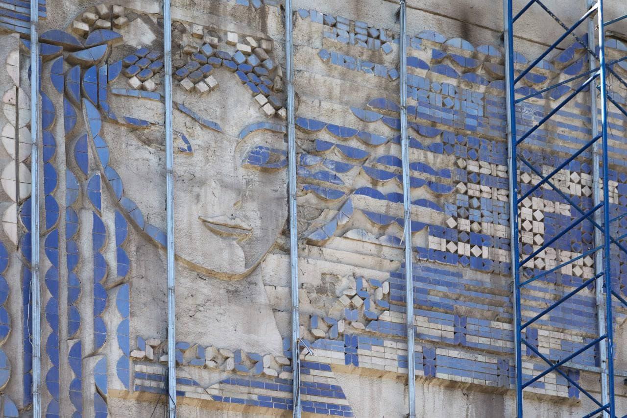 Saida Mirziyoyeva mozaika pannolarni saqlab qolishga chaqirdi
