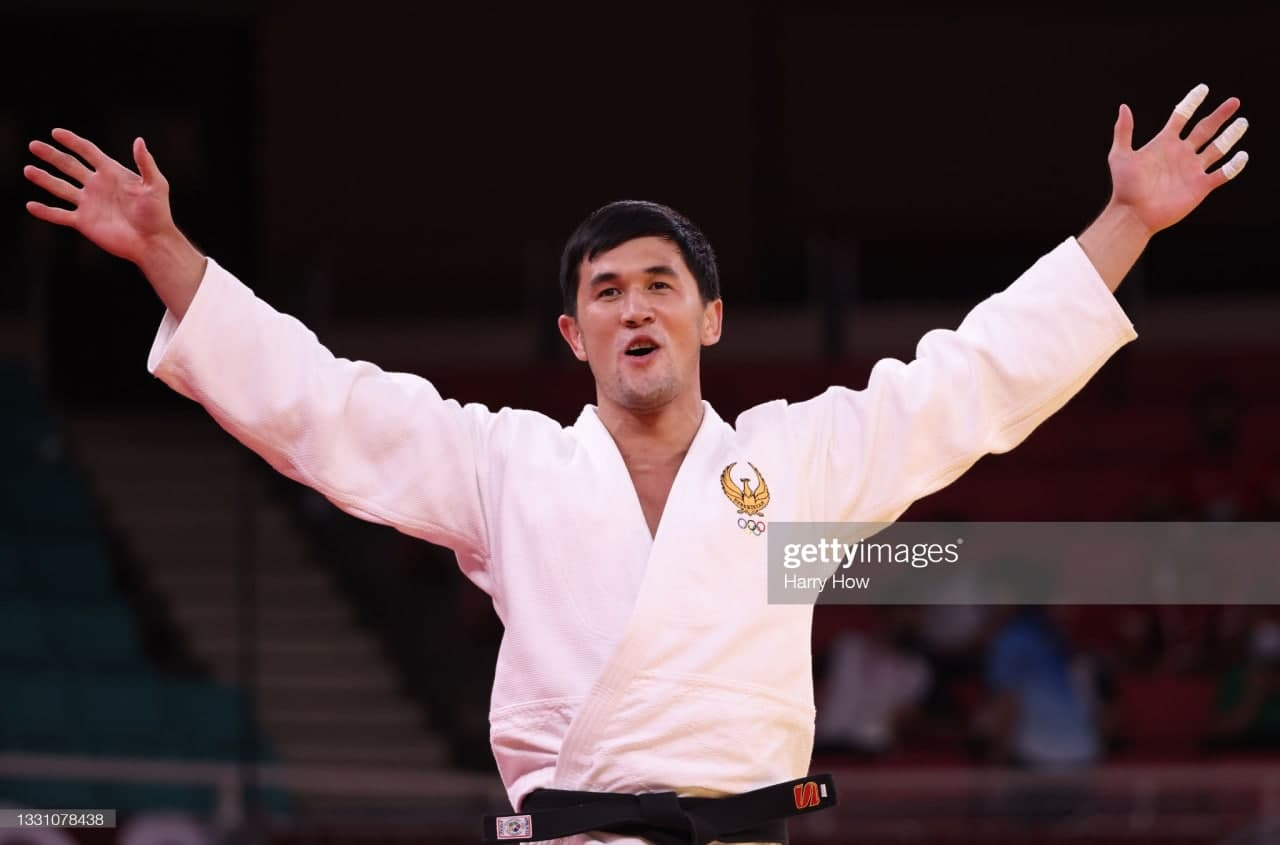 Давлат Бобонов Ўзбекистонга Токио Олимпиадасида яна бир медал олиб келди