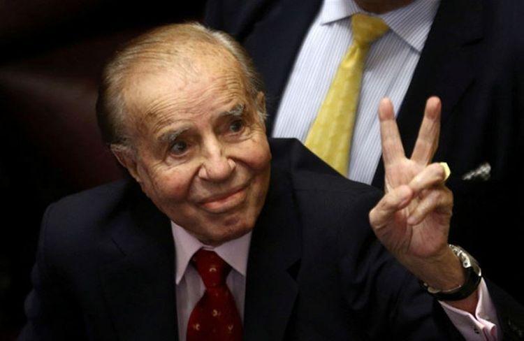 Аргентинанинг собиқ президенти Карлос Менем вафот этди