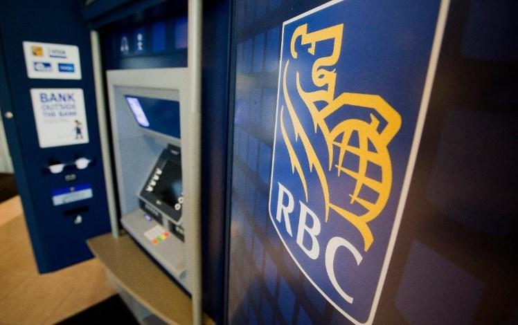 Rbc us bank machine locations