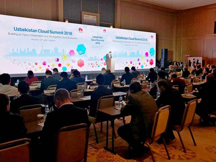 Huawei sets the trend for cloud technologies in Uzbekistan