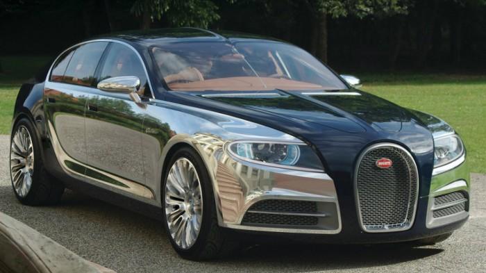 Bugatti supersedan ishlab chiqarish g'oyasini muhokama etmoqda