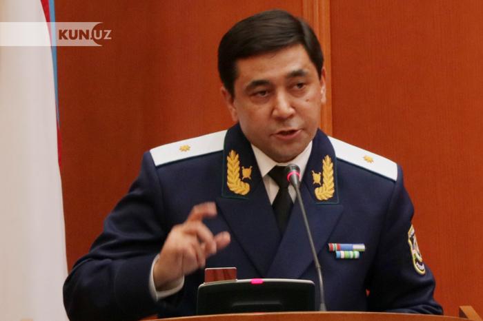 Показать фото генпрокурора узбекистана его используют